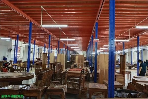 佛山货架厂分享阁楼货架提高仓储能力