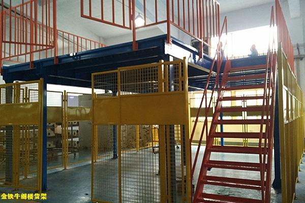 佛山阁楼货架在仓储行业的优势